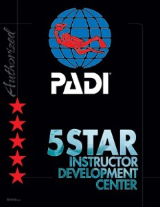 PAdi 5 star instructor sardaigne